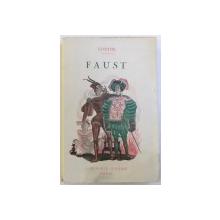 FAUST par GOETHE , traduction de GERALD NERVAL , 1937