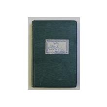 FAUST - tragedie de GOETHE , traducere de ION GORUN , 1906