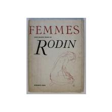 FEMMES - VINGT - QUATRE ETUDES de RODIN , presentees par CECILE GOLDSCHEIDER , 1966