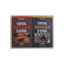 FENOMENUL CONTRAFACERILOR IN ROMANIA , VOLUMUL I - II , editie coordonata de DAN COSTE , 2003