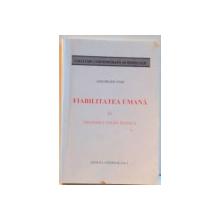 FIABILITATEA UMANA IN SISTEMELE SOCIO TEHNICE , 1996
