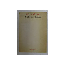 FICTION ET DICTION by GERARD GENETTE , 1991