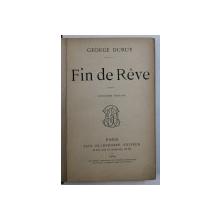 FIN DE REVE par GEORGE DURUY , 1889