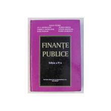 FINANTE PUBLICE , EDITIA A IV-A , coordonator IULIAN VACAREL , 2004