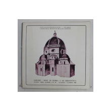 FIRENZE IERI ED OGGI  - MOSTRA DI STORIA E DI URBANISTICA , EDITIE BILINGVA ITALIANA - ROMANA 1980