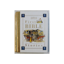 FIRST BIBLE - STORIES by MARKS & SPENCER , ILLUSTRATED by JOHN DILLOW , 2001