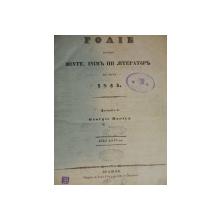 FOAIE PENTRU MINTE INIMA SI LITERATURA -1841   ANUL IV      -BRASOV -GEORGE BARITZ