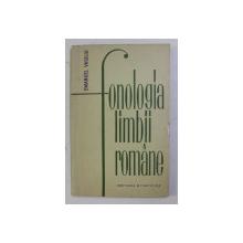 FONOLOGIA LIMBII ROMANE de EMANUEL VASILIU , 1965