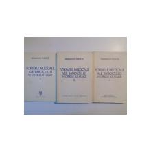 FORMELE MUZICALE ALE BAROCULUI IN OPERELE LUI J.S. BACH , VOL. I - II - III de SIGISMUND TODUTA , 1969
