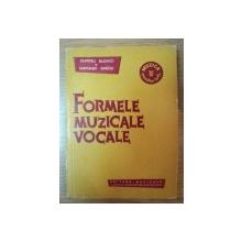 FORMELE MUZICALE VOCALE de DUMITRU BUGHICI , DIAMANDI GHECIU , 1959