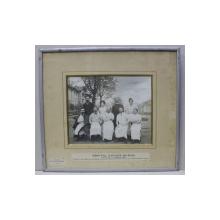 FOTOGRAFIE GRUP DE MEDICI PARIS 1903
