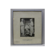 FOTOGRAFIE  LAPAROTOMIE LA SPITALUL COLTEA IN 1906