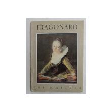 FRAGONARD 1732 - 1806 par JEAN VILLAIN , EDITIE INTERBELICA
