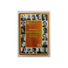 FRANCOPHONIE LITTERAIRE ROUMAINE - MINI - GLOSSAIRE ET CONVERGENCES par MARIAN PERISANU , 2011 , DEDICATIE *