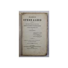 FRANKLIN - OPERE ALESE - DIN BIBLIOTHECA DE LECTURA PENTRU JUNIMEA DE AMBELE SEXE , 1972 , COPERTA REFACUTA *
