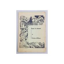 FRUMOASA FARA CORP - BASM IN VERSURI de VICTOR HILMU , 1940 , DEDICATIE *