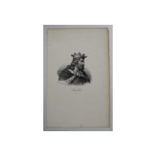 F.S. DELPECH ( 1778 - 1825 ) , CHEREBERT  , LITOGRAFIE MONOCROMA , CCA. 1820