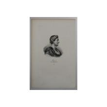 F.S. DELPECH ( 1778 - 1825 )  - LOUIS Ier DIT LE DEBONNAIRE , LITOGRAFIE MONOCROMA , CCA. 1820