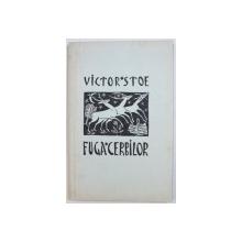 FUGA CERBILOR  -  POEME de VICTOR STOE , coperta de GEO ZLOTESCU , 1940