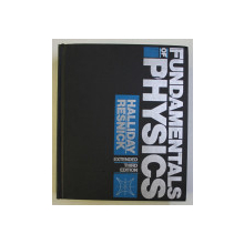FUNDAMENTALS OF PHYSICS , THIRD EDITION EXTENDED by DAVID HALLIDAY ... JOHN MERRILL , 1988