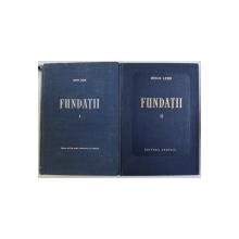 FUNDATII VOL. I - II de HUGO LEHR , 1957