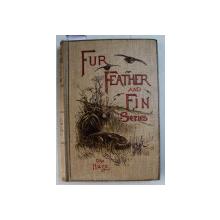 FUR FEATHER AND FIN SERIES edited by ALFRED E.T. WATSON  - THE HARE , 1903 , CONTINE EX LIBRISUL PRINCIPELUI CONSTANTIN KARADJA *