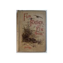 FUR  FEATHER AND FIN  SERIES edited by ALFRED E.T. WATSON  - THE PARTRIDGE , 1896 , CONTINE EX LIBRISUL PRINCIPELUI CONSTANTIN KARADJA *