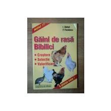 GAINI DE RASA . BIBILICI de I. BARBAT , P. PAVELESCU , 2001