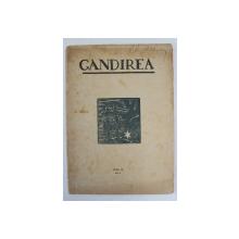 GANDIREA , REVISTA , ANUL  IV   , NR. 6 ,  IANUARIE , 1925