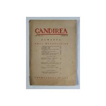 GANDIREA , REVISTA , ANUL XVIII , NR.  9 - OMUL MUSOLINIAN , NOIEMBRIE 1939