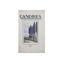 GANDIREA , REVISTA , COLEGAT DE 15 NUMERE DIFERITE  , APARUTE INTRE 20 NOIEMBRIE 1922 SI FEBRUARIE 1929