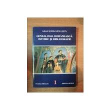 GENEALOGIA ROMANEASCA.ISTORIC SI BIBLIOGRAFIE de MIHAI SORIN RADULESCU  2000