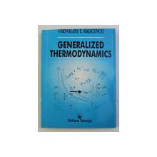 GENERALISED THERMODYNAMICS by VSEVOLOD , T. RADCENCO , 1994