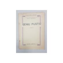 GENIU PUSTIU, ROMAN de MIHAIL EMINESCU - BUCURESTI