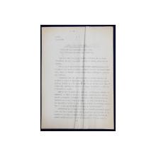 GEO BOGZA  - APARAT PENTRU TAIAT PARUL DIN NAS   - ARTICOL PENTRU ZIAR , DACTILOGRAFIAT , CU CORECTURILE,  MODIFICARILE SI ADAUGIRILE OLOGRAFE ALE AUTORULUI , 1937