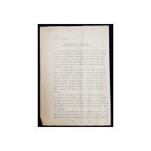 GEO BOGZA  - BILANTUL UNEI ZILE DE RAZBOI - ARTICOL PENTRU ZIAR , DACTILOGRAFIAT , CU CORECTURILE,  MODIFICARILE SI ADAUGIRILE OLOGRAFE ALE AUTORULUI , 1935