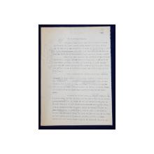 GEO BOGZA  - CUM S-A NASCUT DREAPTA  - ARTICOL PENTRU ZIAR , DACTILOGRAFIAT , CU CORECTURILE,  MODIFICARILE SI ADAUGIRILE OLOGRAFE ALE AUTORULUI , 1937