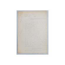 GEO BOGZA  - DOUASPREZECE  - ORA ISCALITURILOR MINISTERIALE   - ARTICOL PENTRU ZIAR , DACTILOGRAFIAT , CU CORECTURILE,  MODIFICARILE SI ADAUGIRILE OLOGRAFE ALE AUTORULUI , 1938