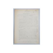 GEO BOGZA  - MEDITATIE DESPRE DANZIG  - ARTICOL PENTRU ZIAR , DACTILOGRAFIAT , CU CORECTURILE,  MODIFICARILE SI ADAUGIRILE OLOGRAFE ALE AUTORULUI , 1939