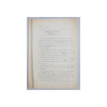 GEO BOGZA  - MOARTEA CELOR DOI CURATATORI DE LATRINE    - ARTICOL PENTRU ZIAR , DACTILOGRAFIAT , CU CORECTURILE,  MODIFICARILE SI ADAUGIRILE OLOGRAFE ALE AUTORULUI , 1935