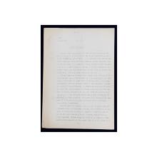 GEO BOGZA  - MOCIRLA  - ARTICOL PENTRU ZIAR , DACTILOGRAFIAT , CU CORECTURILE,  MODIFICARILE SI ADAUGIRILE OLOGRAFE ALE AUTORULUI , 1936