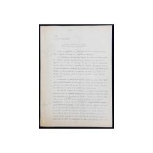 GEO BOGZA  - O PISICA MIAUNA LA VENETIA  - ARTICOL PENTRU ZIAR , DACTILOGRAFIAT , CU CORECTURILE,  MODIFICARILE SI ADAUGIRILE OLOGRAFE ALE AUTORULUI , 1936
