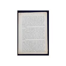 GEO BOGZA  - OAMENI CU TORTE   - ARTICOL PENTRU ZIAR , DACTILOGRAFIAT , CU CORECTURILE,  MODIFICARILE SI ADAUGIRILE OLOGRAFE ALE AUTORULUI , 1935