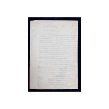 GEO BOGZA  - SAPATURI DE TOAMNA   - ARTICOL PENTRU ZIAR , DACTILOGRAFIAT , CU CORECTURILE,  MODIFICARILE SI ADAUGIRILE OLOGRAFE ALE AUTORULUI , 1937