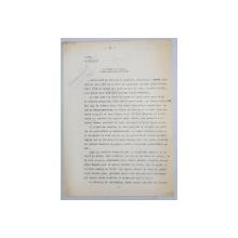 GEO BOGZA  - SAPATURI DE TOAMNA  - VARIANTA    - ARTICOL PENTRU ZIAR , DACTILOGRAFIAT , CU CORECTURILE,  MODIFICARILE SI ADAUGIRILE OLOGRAFE ALE AUTORULUI , 1937