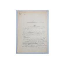 GEO BOGZA  - SONDE SI MOTOARE ASASINE   - ARTICOL PENTRU ZIAR , DACTILOGRAFIAT , CU CORECTURILE,  MODIFICARILE SI ADAUGIRILE OLOGRAFE ALE AUTORULUI , 1934