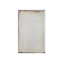 GEO BOGZA  - TRAGEDIILE POPORULUI BASC  - ARTICOL PENTRU ZIAR , DACTILOGRAFIAT , CU CORECTURILE,  MODIFICARILE SI ADAUGIRILE OLOGRAFE ALE AUTORULUI , 1937