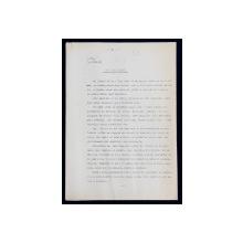 GEO BOGZA  - UN PISOI OPARIT -  ARTICOL PENTRU ZIAR , DACTILOGRAFIAT , CU CORECTURILE,  MODIFICARILE SI ADAUGIRILE OLOGRAFE ALE AUTORULUI , 1937