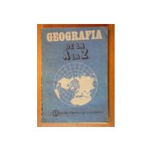 GEOGRAFIA DE LA A LA Z  1986
