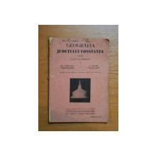 GEOGRAFIA JUDETULUI CONSTANTA PENTRU CLASA II A PRIMARA de GH. TOMULESCU SI D. ABAGIU, BUC. 1931